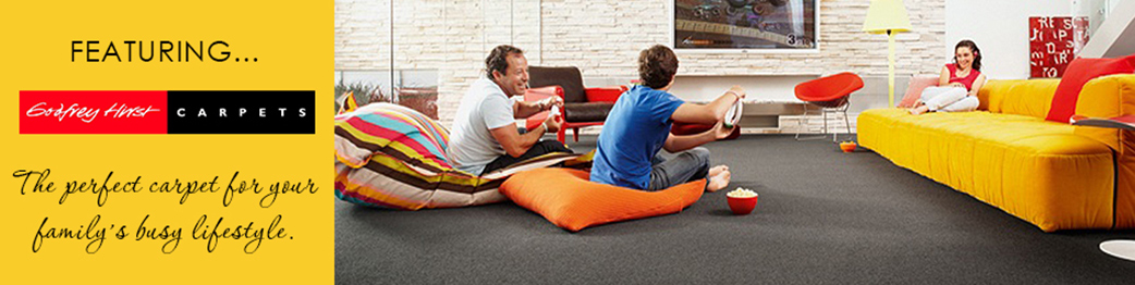 The perfect carpet for your family's busy lifestyle.